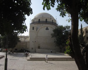 The Hurva is the main Ashkenazic synagogue,