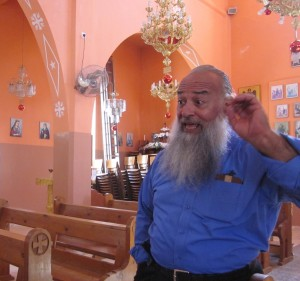 Father Jacq is the Greek Catholic pastor of Taybeh.