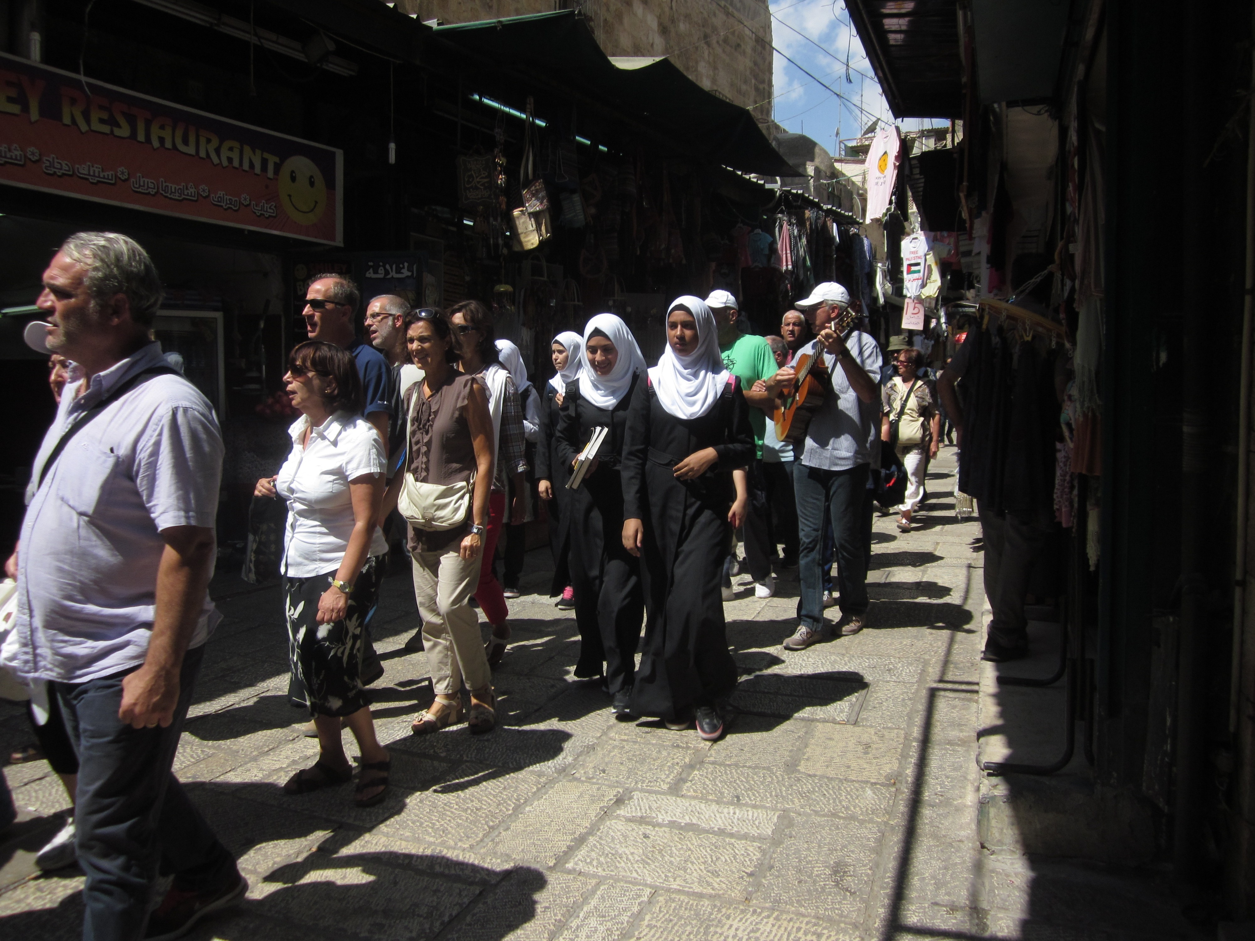 pilgrimage christian muslim The old city's four quarters are key for any jerusalem tours: jewish quarter, christian quarter, armenian (also christian) quarter, and the muslim quarter in each religion's section below, we will detail its relevant sites in the old city.