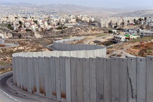 The separation wall around the Al-Salam neighborhood.