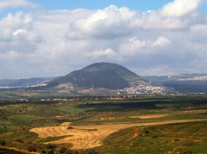 We approached Mt. Tabor from Beth She'an.