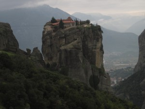 Trinity Monastery is one of six in Meteora.