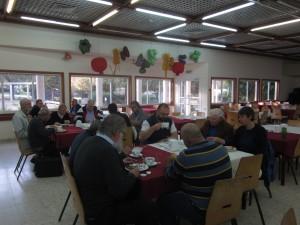 We breakfasted at Kibbutz Mashabei Sadeh.