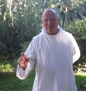 Father Oliver has been at Abu Ghosh 30 years.